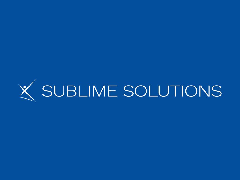 Logo SUBLIME SOLUTIONS